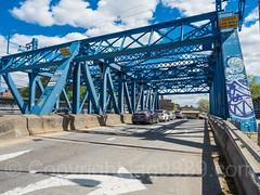 White Plains Road Bridge over Amtrak Railroad Tracks, Van Nest, Bronx, New York City