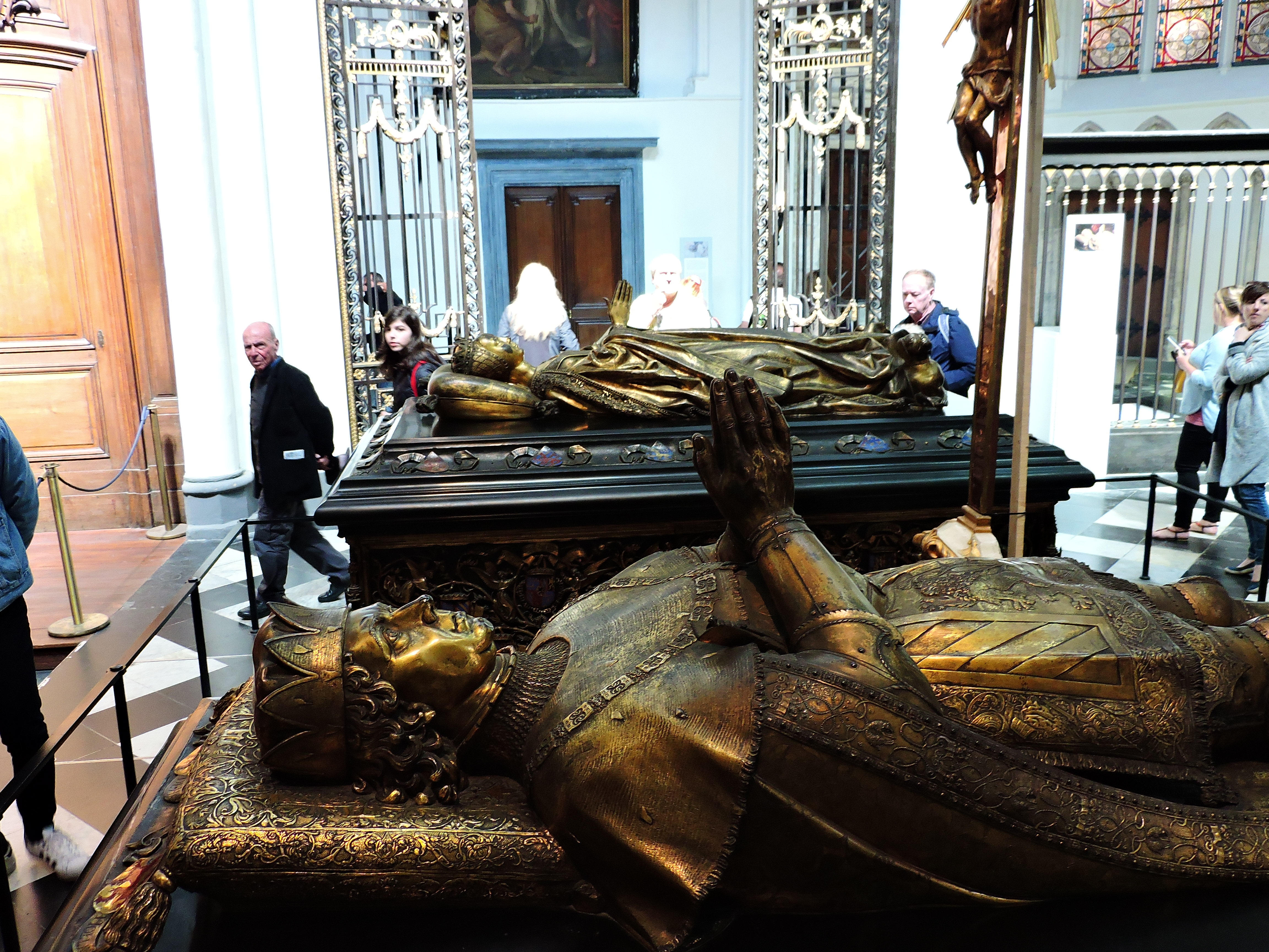 Ceremonial tombs of Charles the Bold & Mary of Burgundy, Church of Our Lady (Onze-Lieve-Vrouwekerk), Bruges