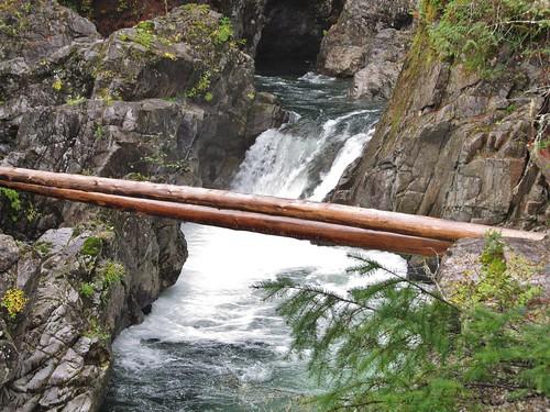 littlequalicumfallsprovincialpark littlequalicumfalls provincialpark vancouverisland britishcolumbia canada landscape scenery waterfalls river