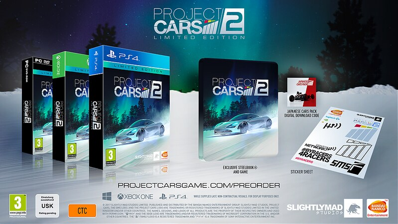 Project CARS 2 Limited