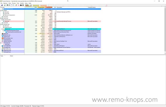 Sysinternals Process Explorer 119
