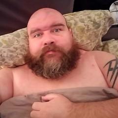 9:30 on a Friday night. Bed and donuts.  #gay #gaybear #beard #beardbear #beardporn #gaybeard #tiredoldqueen #introvert #dogdad #fatandfabulous #gaydallas #gaycarrolltontx