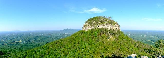 Pilot Mountain Panorama, Fujifilm X-T2, XF14mmF2.8 R