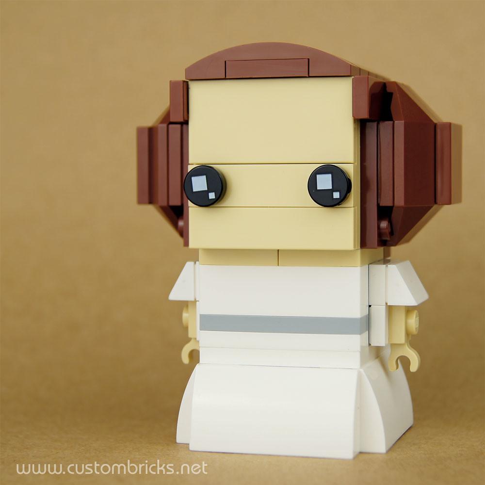 Space Princess (custom built Lego model)