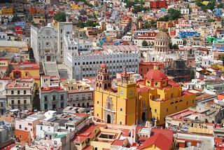 Guanajuato - Universidad y Basílica