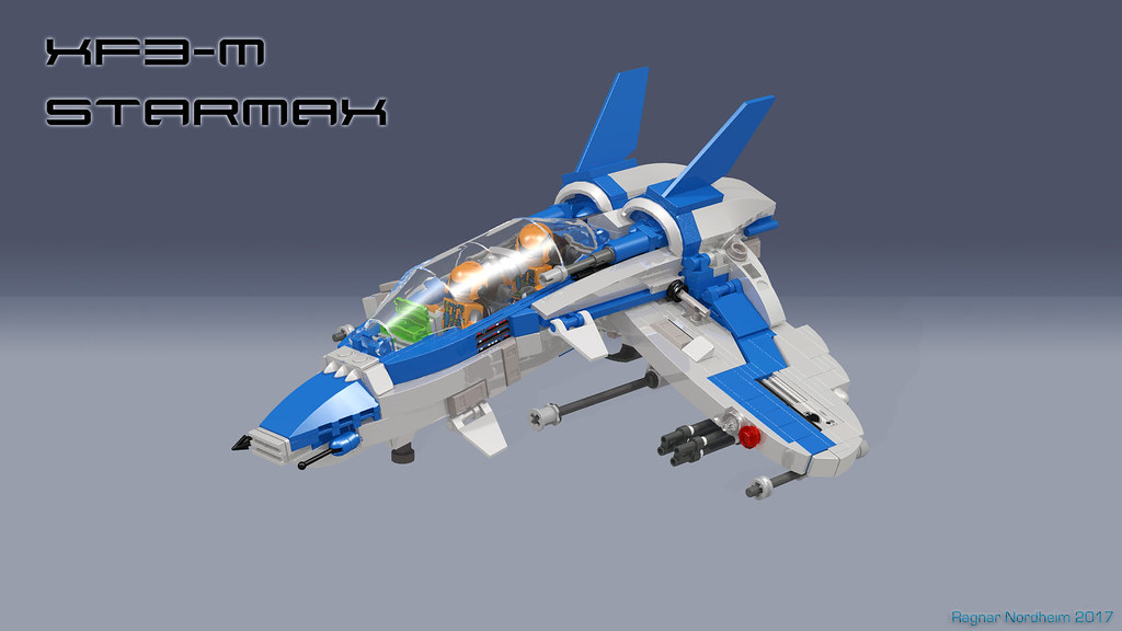 XF3-M Starmax (custom built Lego model)