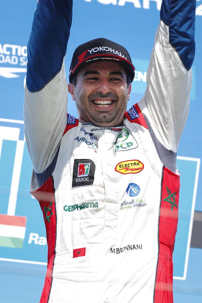 BENNANI Mehdi (mor), Citroen C-Elysee team Sébastien Loeb Racing, ambiance portrait podium ambiance   during the 2017 FIA WTCC World Touring Car Race of Hungary at hungaroring, Budapest from may 12 to 14 - Photo Frederic Le Floc'h / DPPI