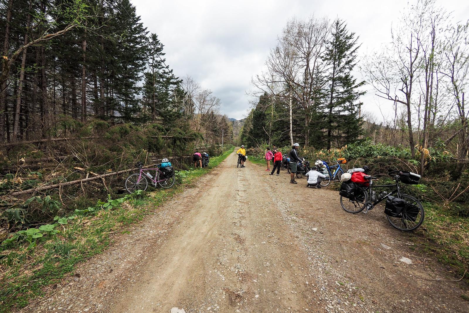 2017 Golden Week Goose Hunt Cycle Tour Day 4 Akabira To Mikasa