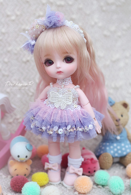 Lati Yellow Sophie | Ball Joint Doll | Little Angel Sweeties ver. Strawberry Cake