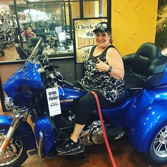 My dream trike motorcycle  at Fort Worth Harley-Davison #fortworthharleydavidson