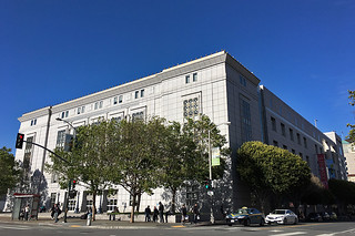 SF Public Library - Main branch Larkin at Grove