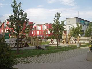 Spielplatz im Baumeister-Carée
