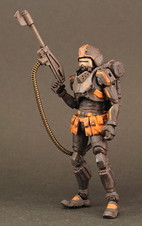 將地獄的業火帶到人間毀滅一切!《酸雨戰爭》地獄部隊 - 火焰士兵 Acid Rain Flame trooper(Omanga military)