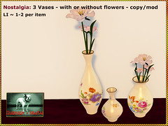 Bliensen - Nostalgia - vintage vases