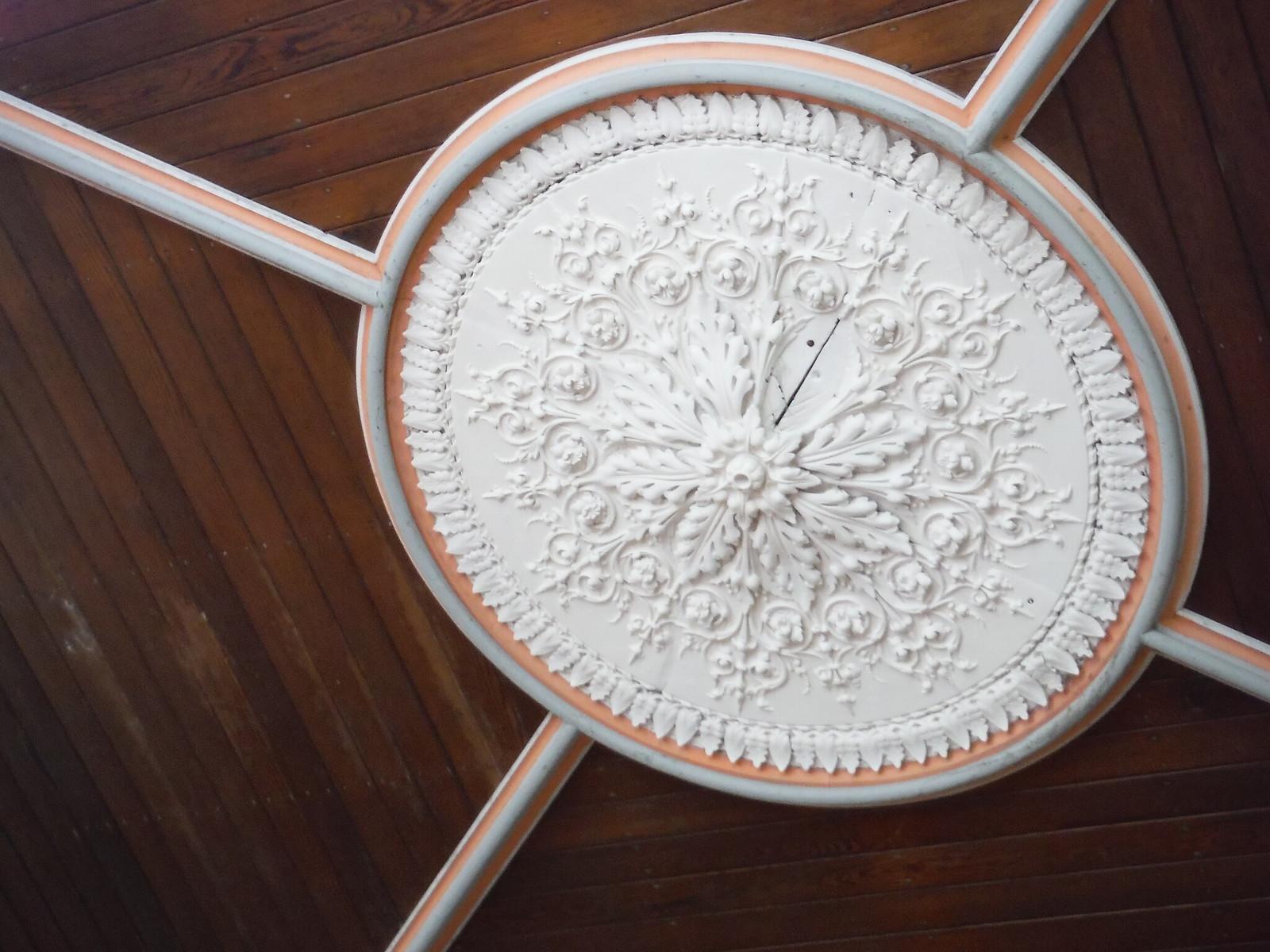 Ceiling Rosary in Paul Emmanuel's Studio in converted chapel SWC Walk 280 Henrhyd Falls - Sgwd Henrhyd (Craig y Nos Circular)