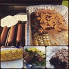 Dinner on the grill #tacos and #brats #tacosalpastor #mexicangrill #germanmexican #grilledcorn #brownies