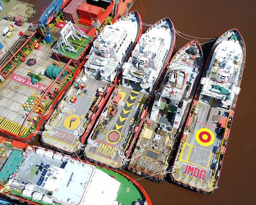 back deck aft stern target imdg