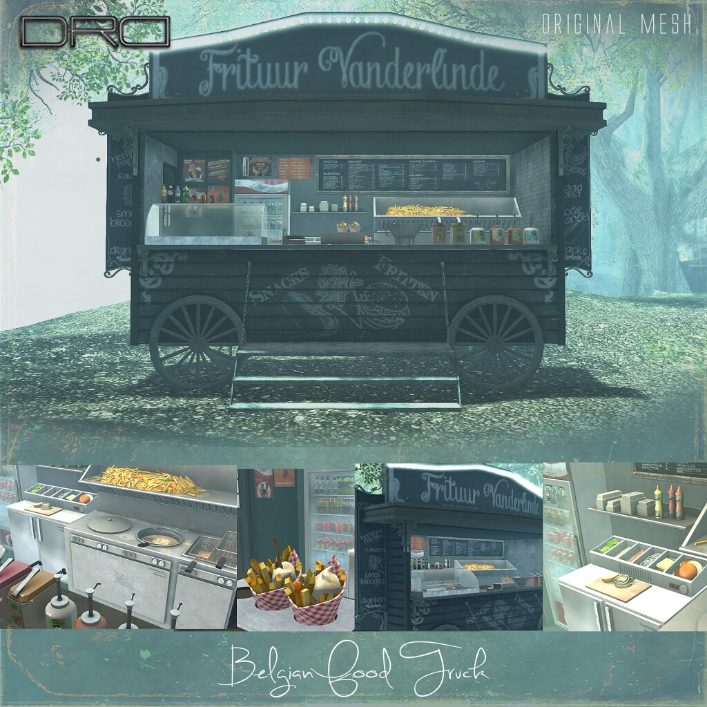 DRD Belgian Food Truck - SecondLifeHub.com