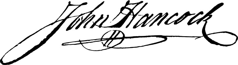 John Hancocks Signature