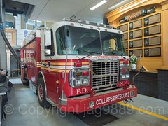 FDNY Collapse Rescue 3 Fire Truck, Bathgate, New York City