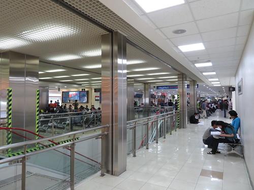 釜山慶南競馬場のスタンド3階