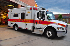 Montgomery County Fire and Rescue Service Reserve Ambulance 4