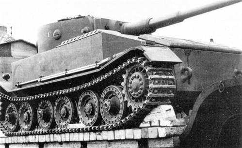 prototype of the German Tiger tank VK. 4501 (Porsche Type 101)