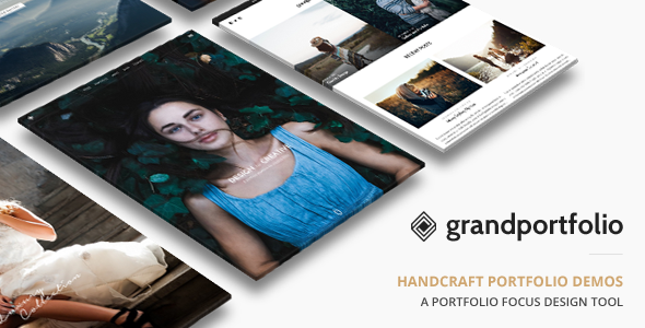 Grand Portfolio v3.4 - Responsive Portfolio Theme