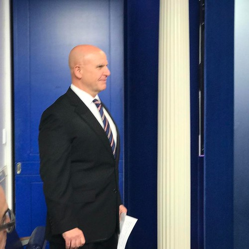 McMaster about to go on...