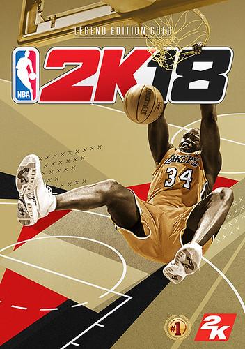 NBA 2K18 edition legend