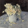 "Fun fact for your Monday! The DMA's first work by Gustave Caillebotte, ""Yellow Rose in a Vase,"" belonged in other impressive collections including entering Edgar Degas's collection in 1894. (Gustave Caillebotte, Yellow Roses in a Vase (Roses jaunes dans u"