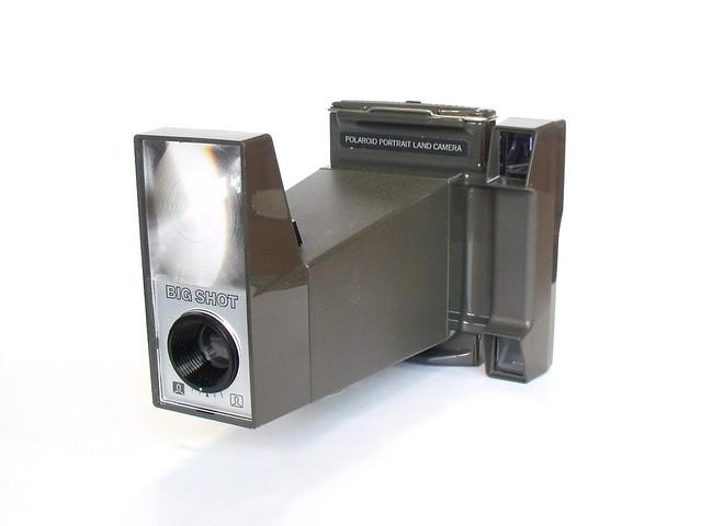 Polaroid Big Shot Camera, Fujifilm FinePix S1500