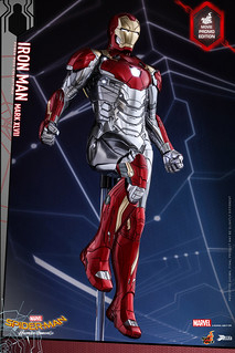 鋼鐵人最新裝甲公開!!!Hot Toys – PPS004 – 《蜘蛛人:返校日》1/6比例鋼鐵人馬克47 Iron Man Mark XLVII Power Pose Collectible Figure