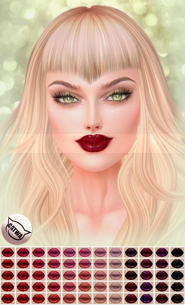!IT! - Flirt Alert Lipstick full image - SecondLifeHub.com