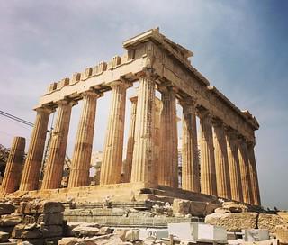 The Parthenon #parthenon #acropolis #athens #grecia #greece