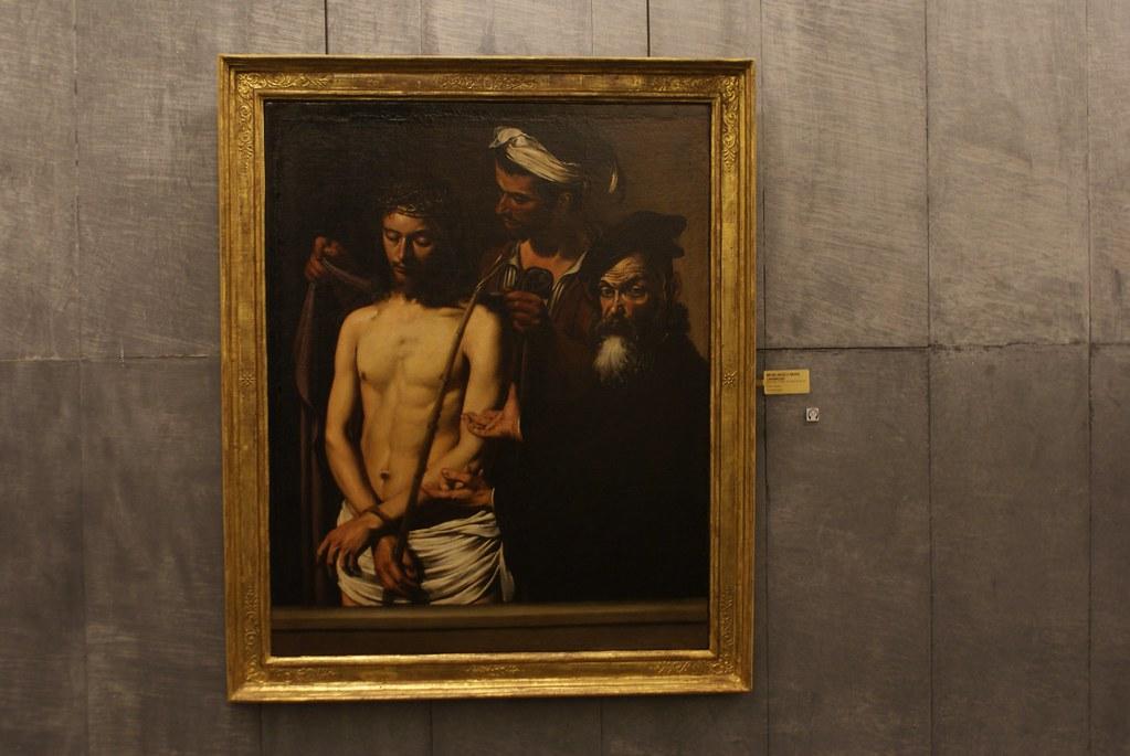 """Ecce Homo"" de Caravaggio au Palazzo Bianco à Gênes"