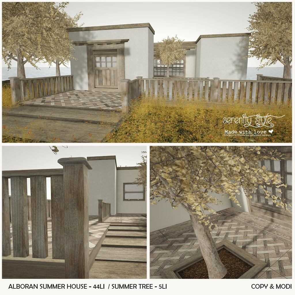 Serenity Style- Alboran Summer House - SecondLifeHub.com