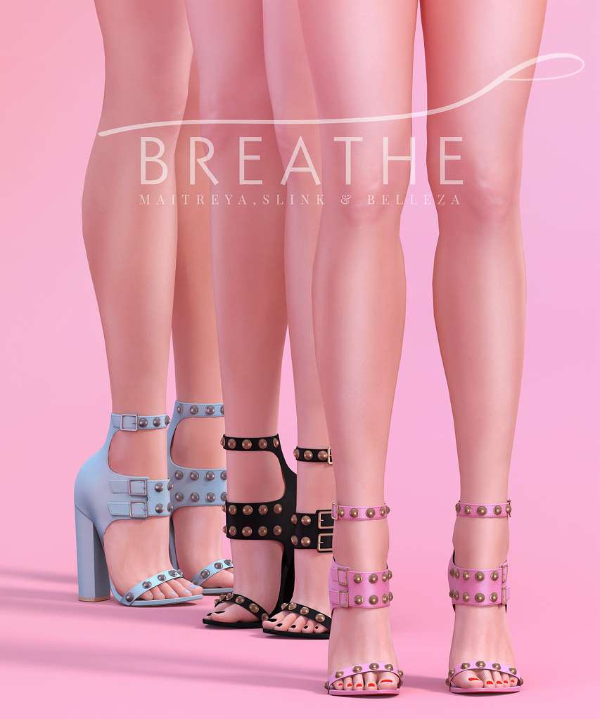 [BREATHE]-Jolie Heels - SecondLifeHub.com