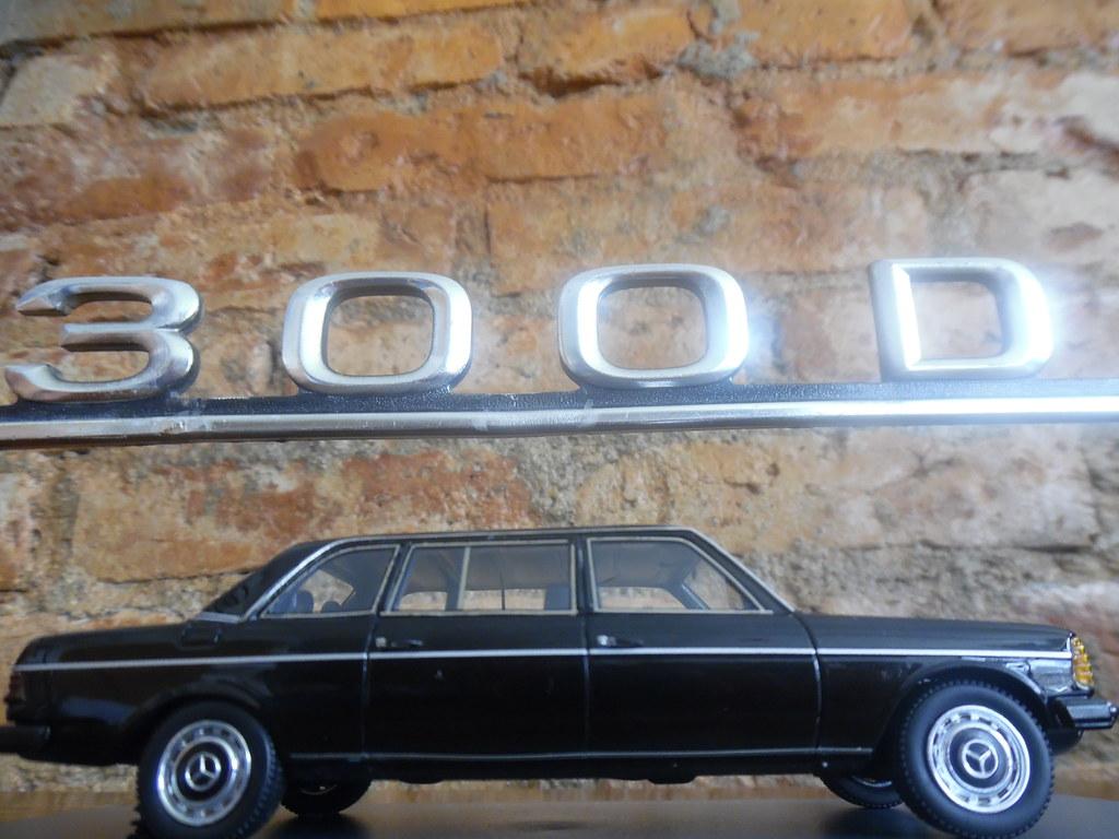 300D MERCEDES MODEL W123 LIMOUSINE LONG WHEELBASE SEDAN | Flickr
