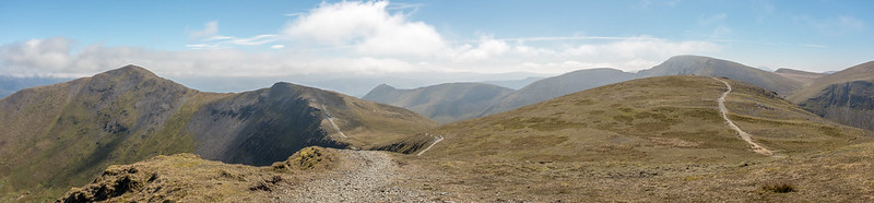 North West Fells Panoramic