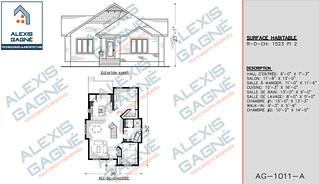 Plan de maison 1 étage - MM1e.05