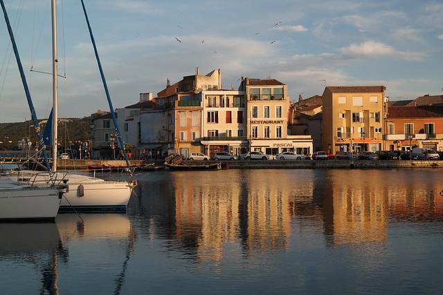 Kanal in Martigues, Frankreich