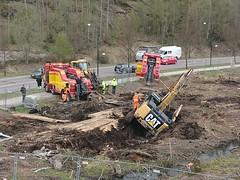 Excavator salvage