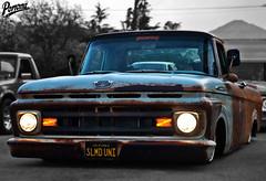 Slammed Ford Unibody Truck