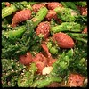 #rapini and Romano #beans #Homemade #CucinaDelloZio - add salt and pepper