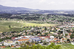 Slovenske Konjice, view from old castle ruins