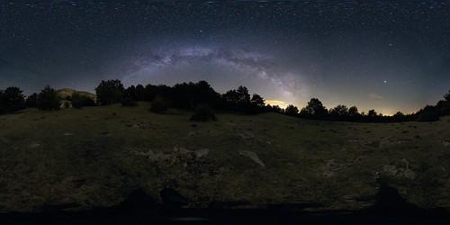 Pano Via Làctia 360º