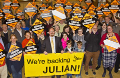 Julian Huppert's general election campaign launch