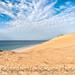 Sand dunes on Benguerra Island Mozambique