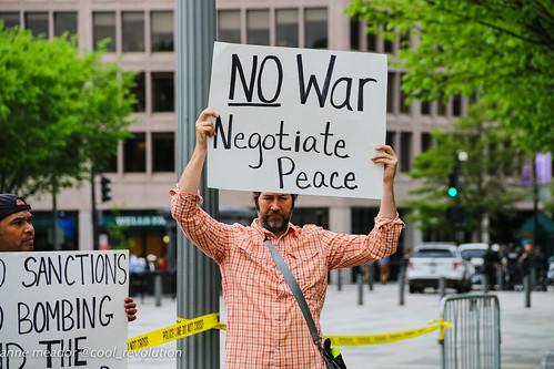 No War, Negotiate Peace